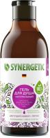 Гель для душа Synergetic Натуральный Биоразлагаемый Цветущий инжир и лотос (380мл) -
