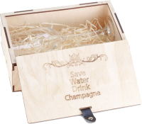 Подарочный набор Bene Save Water Drink Champagne / 6388.919 -