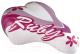 Сиденье велосипеда DDK Ruby / 1217A (белый/розовый) -