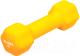 Гантель Bradex SF 0540 (1кг, желтый) -