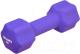 Гантель Bradex SF 0544 (4кг, фиолетовый) -