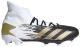 Бутсы футбольные Adidas Predator 20.3 FG / FW9196 (р-р 7.5, белый/черный) -