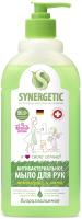 Мыло жидкое Synergetic Антизапах Лемонграсс и мята чистота и ультразащита 99.9% (500мл) -