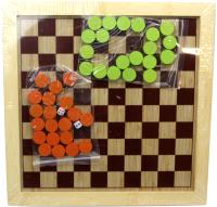 Набор игр Toys Нарды, шашки / D6007 -