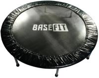 Батут BaseFit TR-101 (137см, черный) -