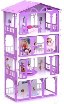 Кукольный домик Krasatoys Дом Елена с мебелью / 000283
