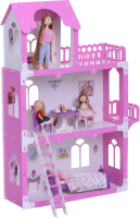 Кукольный домик Krasatoys Дом Милана с мебелью / 000270 -