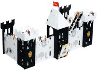 Кукольный домик Krasatoys Крепость Артур / 000276 (белый/черный) -
