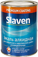 Эмаль Slaven ПФ-115 (20кг, серый) -