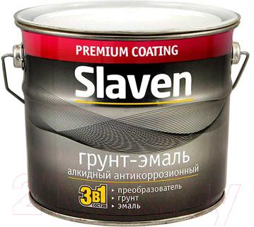 Эмаль Slaven По ржавчине (20кг, желтый)