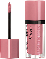 Жидкая помада для губ Bourjois Rouge Edition Velvet 10 Dont Pink Of It! (6.7мл) -