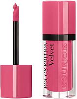 Жидкая помада для губ Bourjois Rouge Edition Velvet 11 So Hap Pink (6.7мл) -