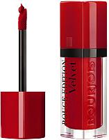 Жидкая помада для губ Bourjois Rouge Edition Velvet 15 Red-Volution (6.7мл) -