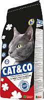Корм для кошек Adragna Cat&Co Beef&Chicken (20кг) -