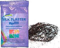 Блестки для жидких обоев Silk Plaster Полоска мини (10гр, серебристый) -