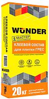 Клей для плитки Wunder Грес (20кг) -
