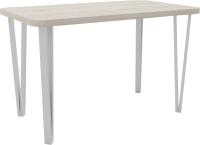 Обеденный стол Hype Mebel Польский 110x70 (белый/древесина белая) -