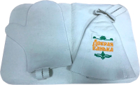 Набор текстиля для бани Королевна Добрая банька / 5113-5010 -