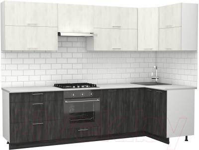 Готовая кухня S-Company Клео крафт 1.2x2.8 правая