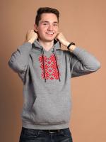 Худи Fainy Ярыла с вышивкой (XL/52, серый) -