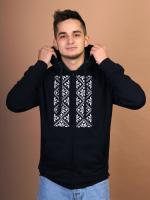 Худи Fainy Васьмірог с вышивкой (M/48, черный) -