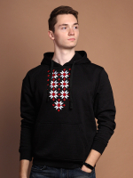 Худи Fainy Жыцце с вышивкой (XL/52, черный) -