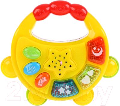 Музыкальная игрушка Умка Бубен музыкальный с проектором / B1576450-R-N