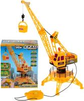 Игрушка на пульте управления Технодрайв Кран на пульте со светом / B1862456-R -