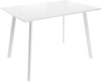 Обеденный стол Listvig Слим 2 110x70 (белый) -