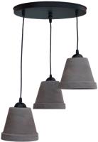 Люстра Латерна Loft Ферро-1363 (черный) -
