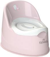 Детский горшок Kidwick Гигант / KW060302 (розовый/белый) -