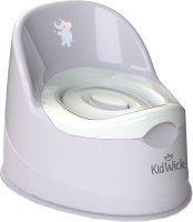Детский горшок Kidwick Гигант / KW060402 (серый/белый) -