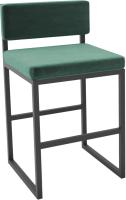 Стул Hype Mebel Софт (черный/зеленый) -