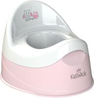 Детский горшок Kidwick Дуэт / KW100304 (розовый/белый) -