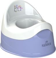 Детский горшок Kidwick Дуэт / KW100504 (фиолетовый/белый) -