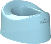 Детский горшок Kidwick Мини / KW010201 (голубой) -