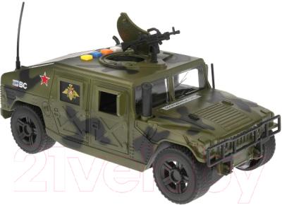 Автомобиль игрушечный Технопарк Военный Джип / WY610A
