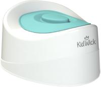 Детский горшок Kidwick Мини / KW010102 (белый/бирюзовый) -