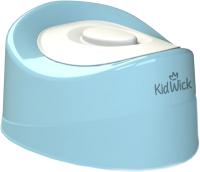 Детский горшок Kidwick Мини / KW010202 (голубой/белый) -