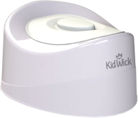 Детский горшок Kidwick Мини / KW010402 (серый/белый) -