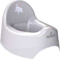 Детский горшок Kidwick Наутилус / KW020404 (серый) -
