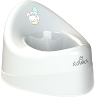 Детский горшок Kidwick Ракушка / KW030101 (белый) -