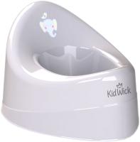 Детский горшок Kidwick Ракушка / KW030401 (серый) -