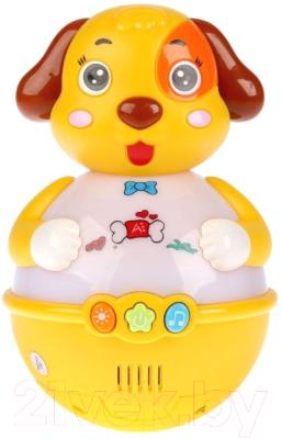 Музыкальная игрушка Умка Музыкальная неваляшка Щенок / B1618665-R
