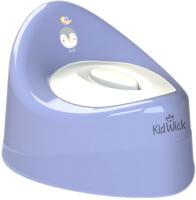 Детский горшок Kidwick Ракушка / KW030502 (фиолетовый/белый) -