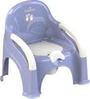 Детский горшок Kidwick Премьер / KW110502 (фиолетовый/белый) -