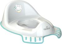 Детская накладка на унитаз Kidwick Флиппер / KW120100 (белый/бирюзовый) -
