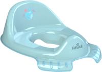 Детская накладка на унитаз Kidwick Флиппер / KW120200 (голубой/темно-голубой) -