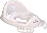 Детская накладка на унитаз Kidwick Флиппер / KW120400 (серый/темно-серый) -