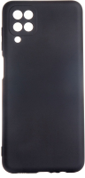 Чехол-накладка Bingo Liquid для Galaxy A12 (черный) -